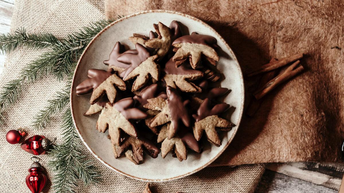 Nougat-Hanf Kekse